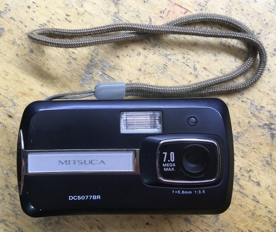 Câmera Digital Mitsuca Dc5077br