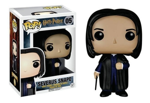 Funko Pop Movies Harry Potter Severus Snape 05 Original Edu