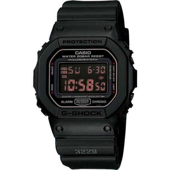 Relógio Casio G-shock Masculino Preto Dw-5600 Original