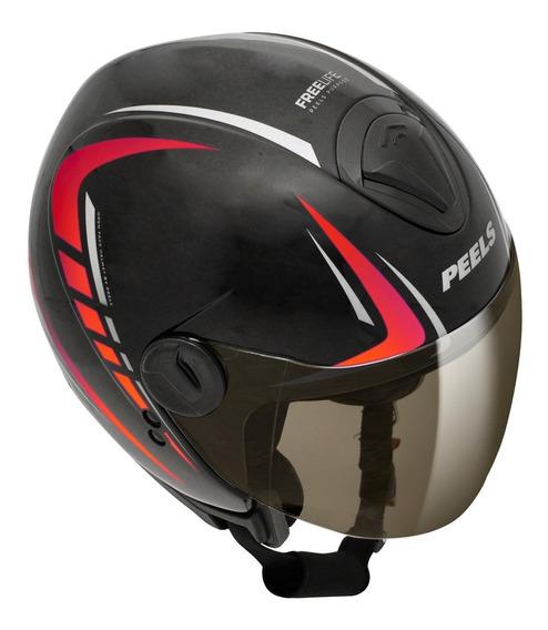 Capacete Moto Peels Aberto Freeway Redshift Cores