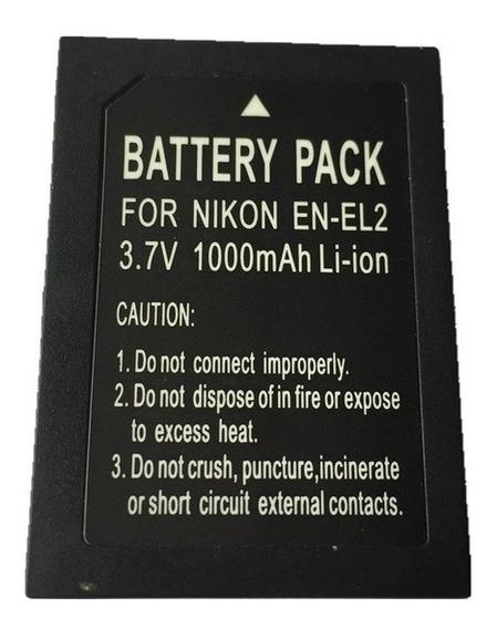 Bateria Enel2 En-el2 Coolpix Sq 3500 2500 Sq500