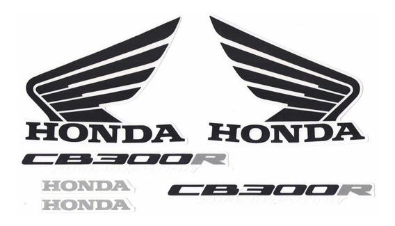 Jogo De Adesivos Kit Faixas Honda Cb 300r 2011 Dourada