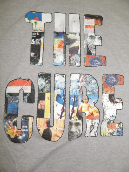 Cure Playera Camiseta Grande Dist1 U2 Pixies Robert Smith