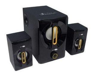 Caixa De Som Hardline 2.1 As W815 25w Rms