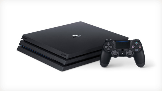 Ps4 Play Station 4 Pro 1tb 4k + Control