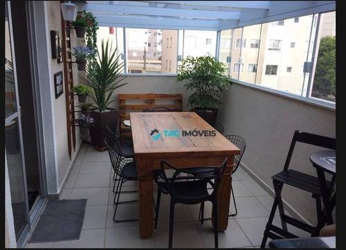 Cobertura Com 2 Dormitórios À Venda, 125 M² Por R$ 430.000 - Vila Industrial - Campinas/sp - Co0079