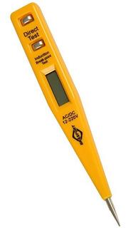 Caneta Chave Teste De Voltagem/corrente Digital 12-220v Bivo