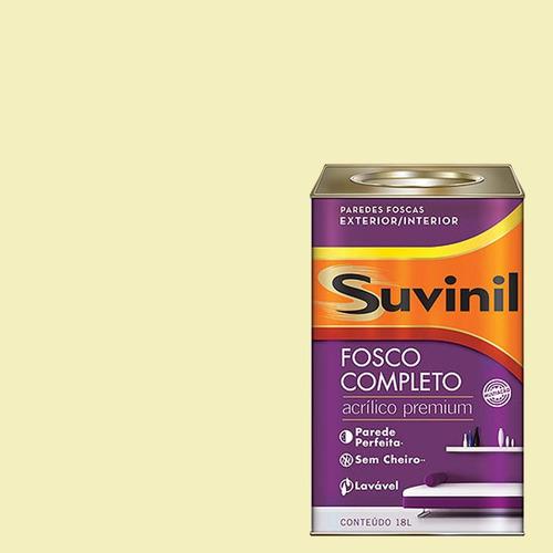 Tinta Acrilica Fosca Premium Suvinil Creme De Millho 18lts.