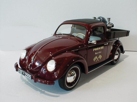 Miniatura Vw Fusca Kafer Porsche Schuco 1/18