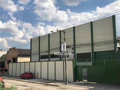 Galpão Para Alugar, 1600 M² Por R$ 18.000/mês - Cidade Industrial Satélite De São Paulo - Guarulhos/sp - Ga0105