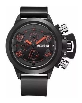 Relógio Militar Megir 2002 À Prova D