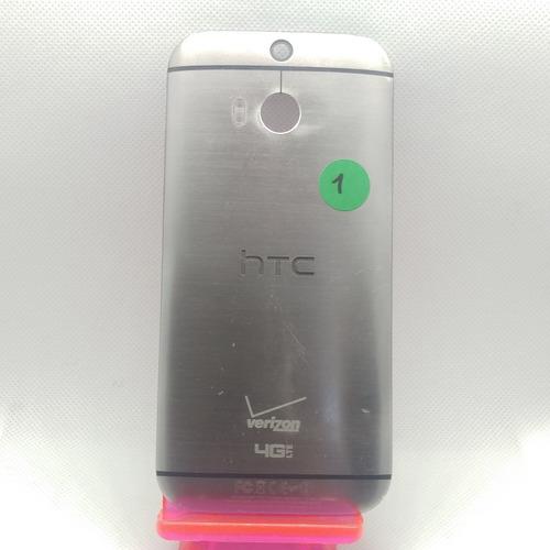 Tapa Trasera Htc One M8 Usada 6/10 Sin Botones De Volumen
