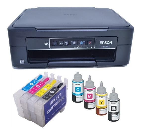 Impressora Ep Xp241 Cartucho Recarregavel+ Chave Desbloqueio