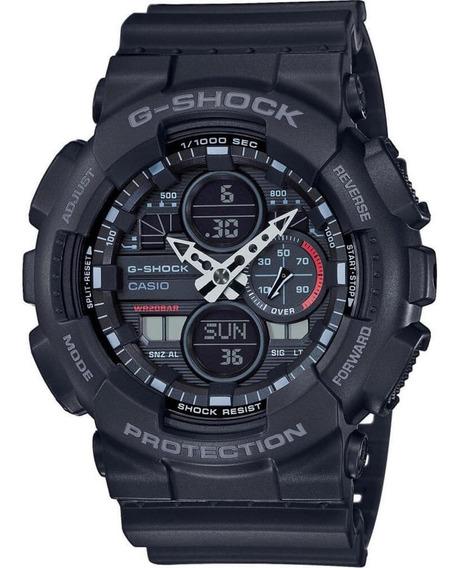 Relógio Casio G-shock Masculino Ga-140-1a1dr Original Com Nf