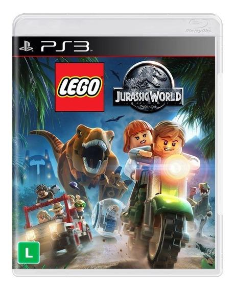 Jogo Lego Jurassic World Ps3 Mídia Física Pronta Entrega