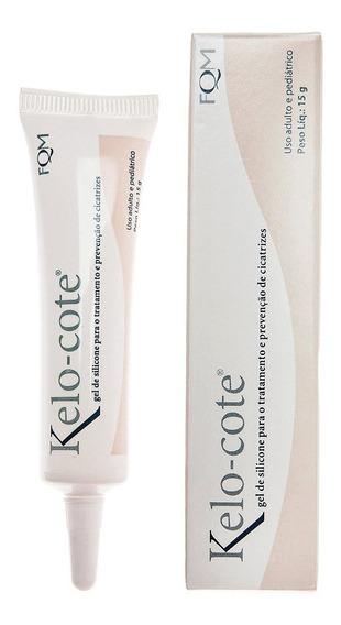Kelo-cote Gel 15g Redução Cicatriz Prevenção Queloide Pele