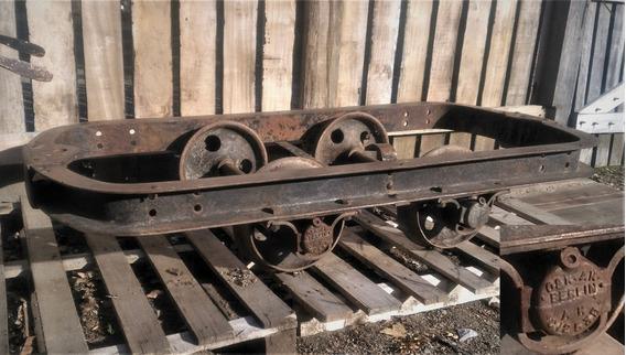 Zorra Ferrocarril O Minera Inglesa Muy Buen Estado