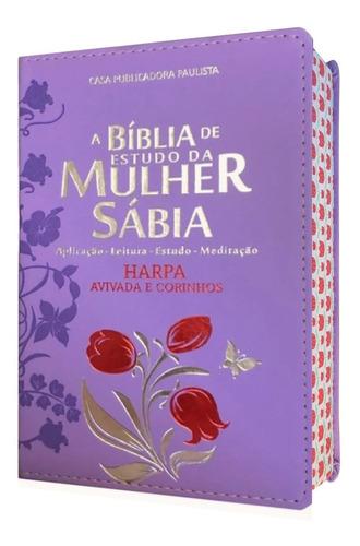 Bíblia De Estudo Da Mulher Sábia Lilás