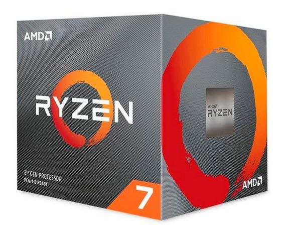 Micro Procesador Amd Ryzen 7 3700x 8 Nucleos Gtia Oficial Pc