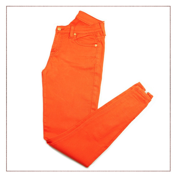 Calça 7 For All Mankind Laranja