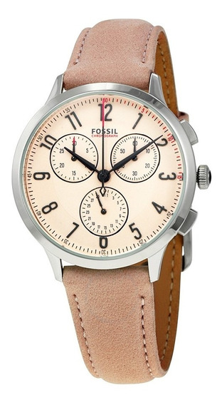 Reloj Fossil Leather Pink Abilene