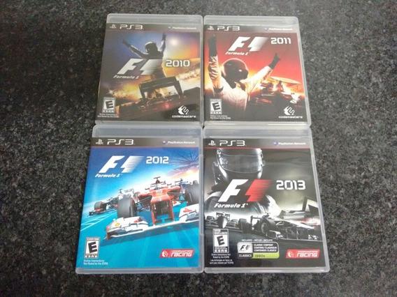 Jogos F1 2010, 2011, 2012 E 2013 Ps3