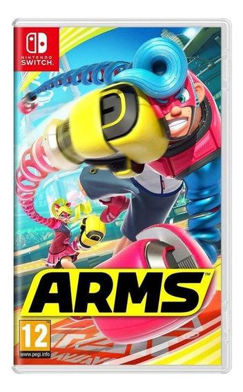 Arms Switch Mídia Física Novo Lacrado
