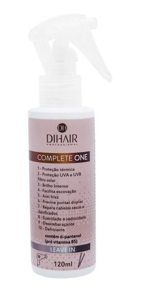 Leave-in Protetor Térmico Complete One 120ml- Dihair