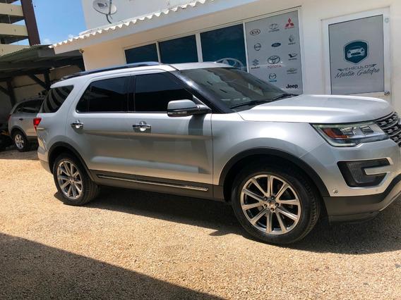 Ford Explorer Limited Automatica Gris Plata Como Nueva