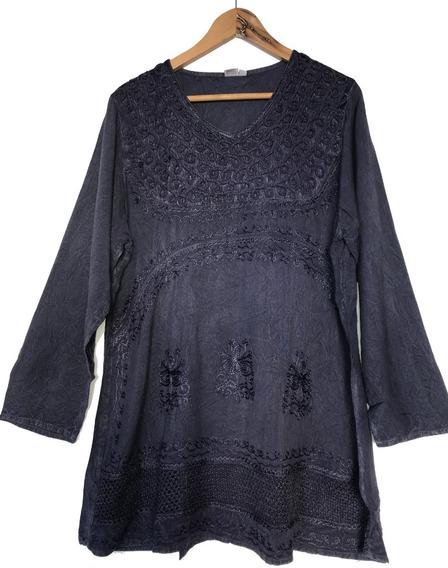 Blusa Mujer Hindu Stone, Bordadas Y Detalles Divinos Mirala!