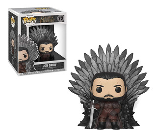 Pop! Deluxe Game Of Thrones Jon Snow Sitting On Iron Throne