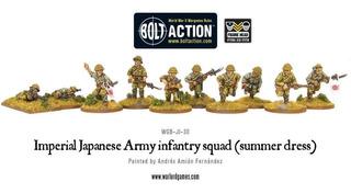 Hismmer Imperial Ejército Japonés Infantería Escuadrón Minia