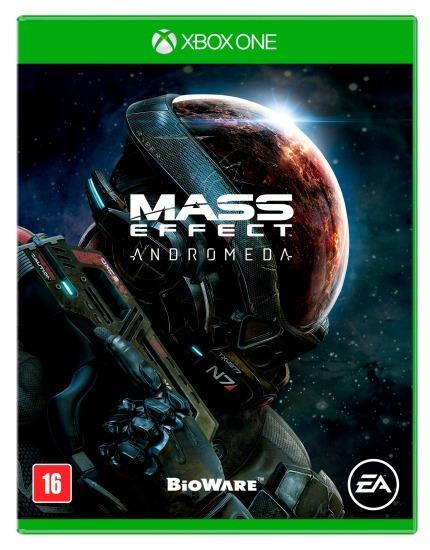 Mass Effect Andromeda - Xbox One Lacrado Novo Mídia Física