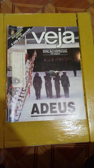 Revista Veja Tancredo Adeus Ano 1985 Rara