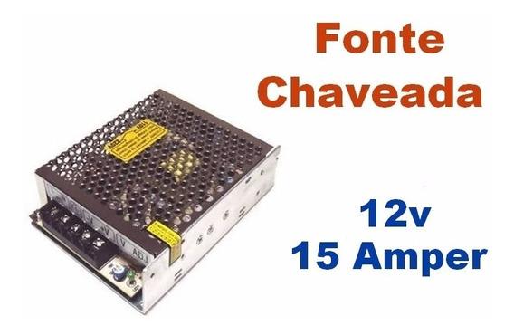 Fonte Chaveada 12v 15 Amperes - Colmeia