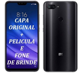 Xiaomi Mi8 Lite 64gb 4gb+pelicula De Brinde+capa+nota Fiscal