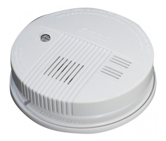 Lx98 Sensor De Humo Inalambrico 9v Alarma Incendio