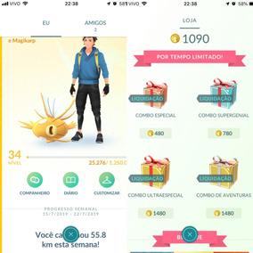 Card Pokémon Go Conta 34 Team Instinct Grundon 98% Shiny