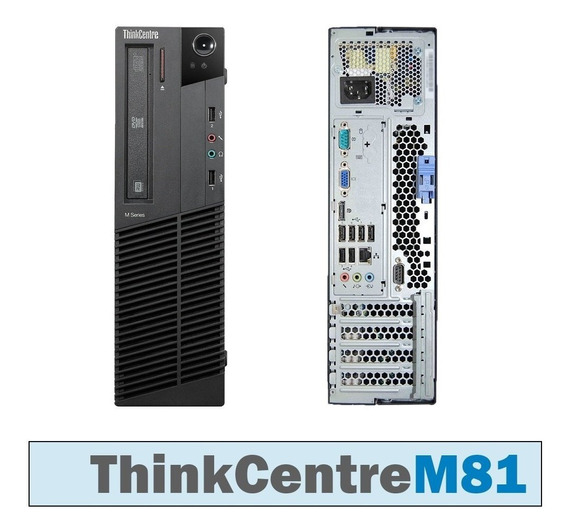 Desktop Lenovo M81 Sff I5 3.1 Ghz 4gb1333mhz 500gb