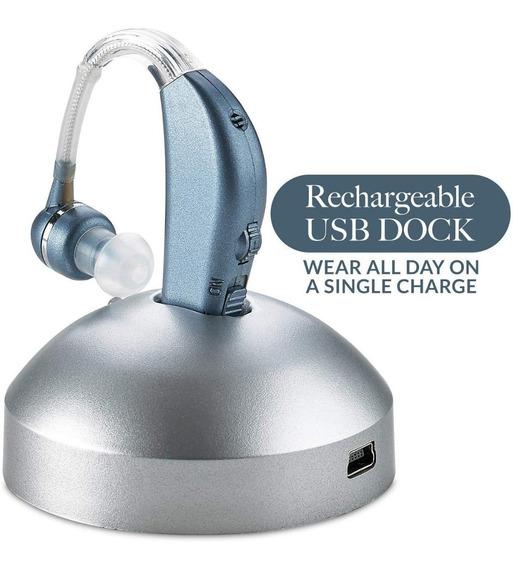 Amplificador Auditivo Audifono Digital Recargar Oido Voz