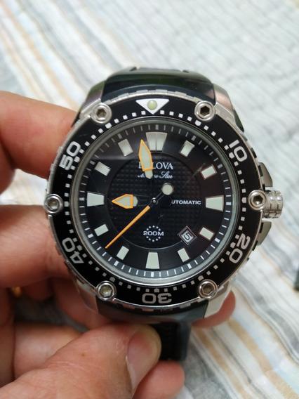 Bulova Marine Star C877775 Na Caixa Watch Relógio 200 M