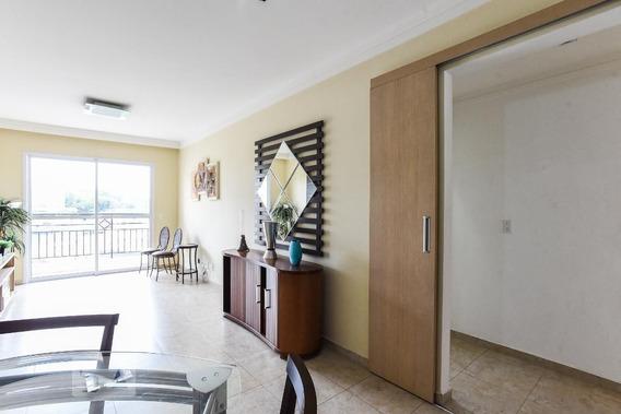 Apartamento No 1º Andar Mobiliado Com 3 Dormitórios E 2 Garagens - Id: 892973038 - 273038