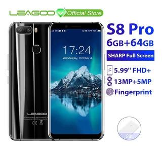 Smartphone Leagoo S8 Pro 6gb/64gb - Azul - Pronta Entrega!