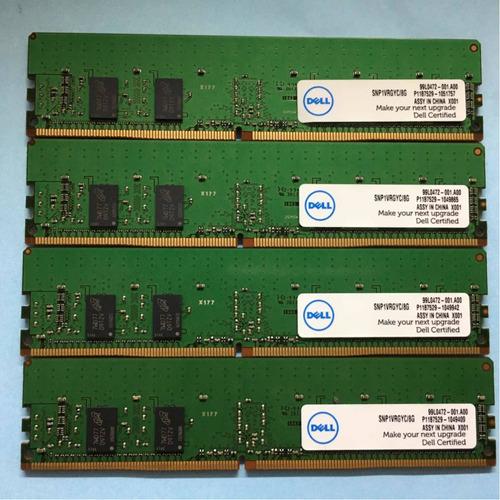 Memoria Dell 8gb Pc4 - 2666v (1x8gb) Compatível Desktop Dell