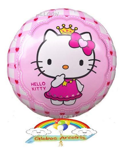 Globos Hello Kitty Y Winnie Pooh De 18