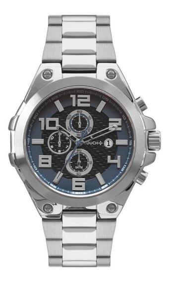 Relógio Touch Masculino Prata Twos1aab/3p