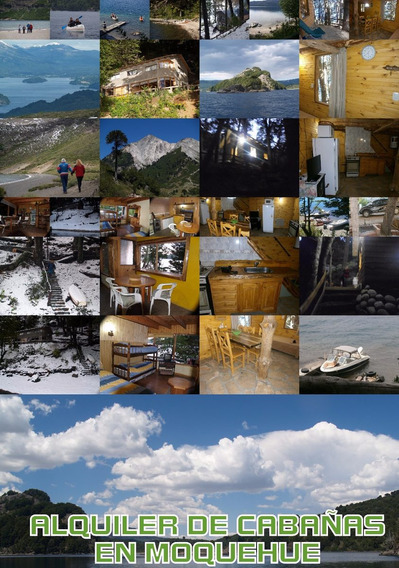 Cabañas Villa Pehuenia / Moquehue Costa Lago, Ene / Febr