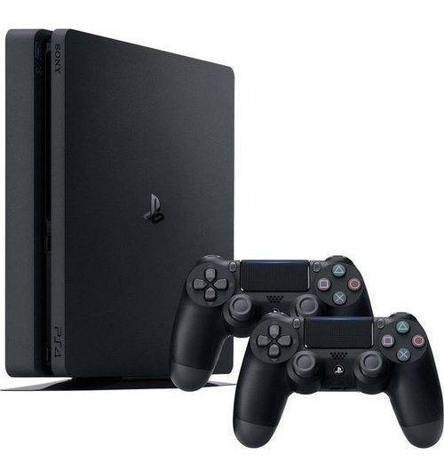 Video Game Ps4 Slim 500gb 2 Controles Playstation 4 Play 4