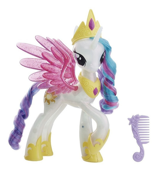 My Little Pony - Figura Princess Celestia - Brillos Y Des...