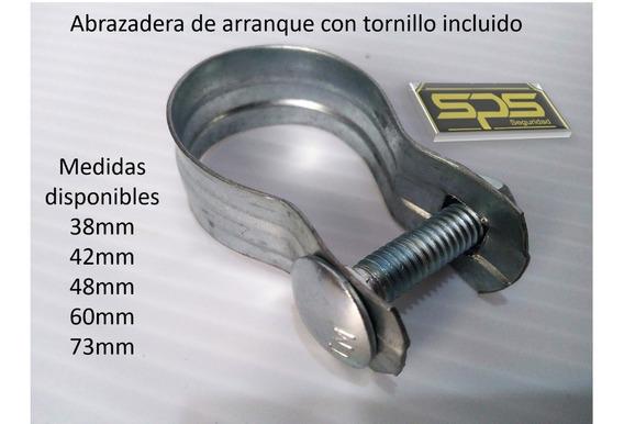 Abrazadera Con Tornillo Galvanizada Tubo 1